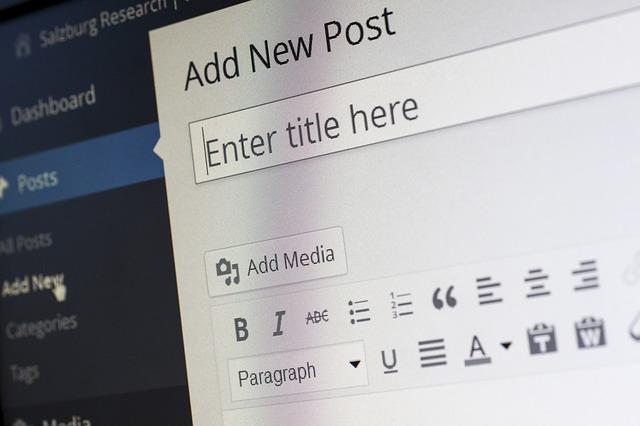 program wordpress