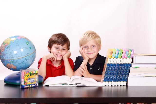 Děti, kluci, studium.